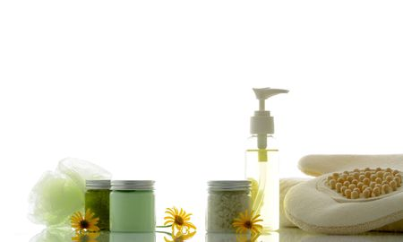 bodycare: bodycare products Stock Photo