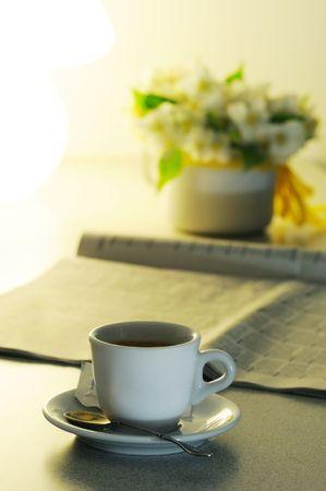 evening newspaper: espresso