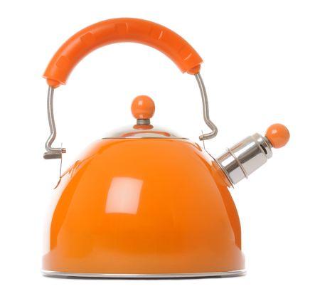 orange kettle