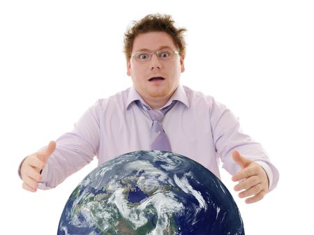 catastrophe: global catastrophe Stock Photo
