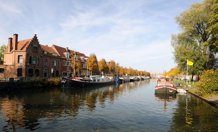 autumn in Bruges Stock Photo - 5805667