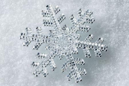 shiny snowflake Stock Photo - 5854773
