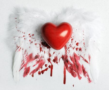 wounded heart Stock Photo - 6197176
