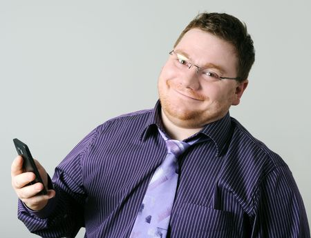 man with mobile phone Stock Photo - 7003782