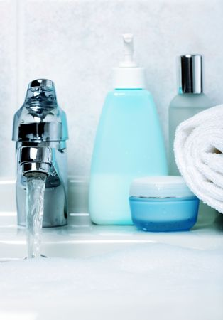 cleaness: in the bathroom