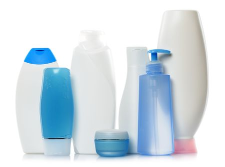cleaness: bodycare products Stock Photo