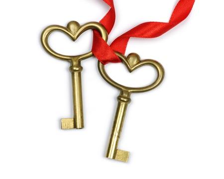 ribbon heart: two keys
