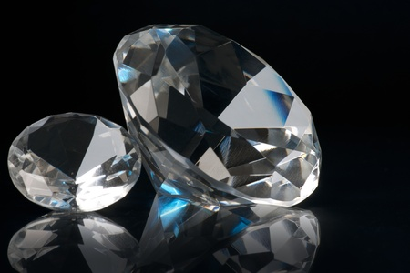 two crystals Stock Photo - 8854043