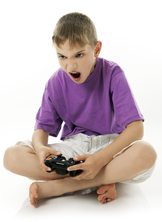 ni�os jugando videojuegos: videojuegos
