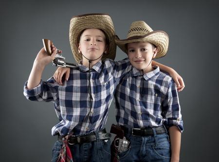 male costume: cowboys