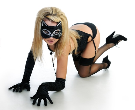 cat woman photo