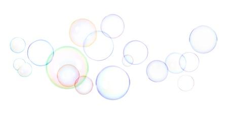 soap sud: soap bubbles Stock Photo