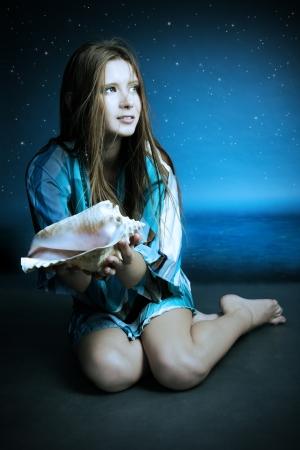 adult mermaid: beautiful mermaid