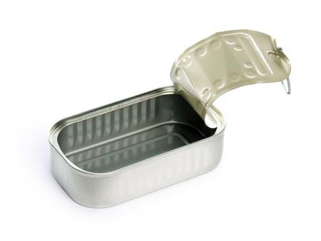 sardine can: empty sardine can