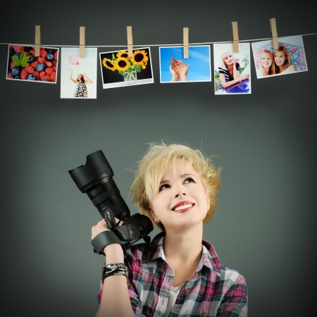 mujeres pensando: fot�grafo