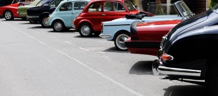 old fashioned car: vintage car show