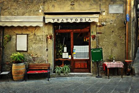 イタリアン レストラン 写真素材