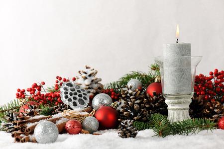 velas de navidad: Navidad todavía la vida