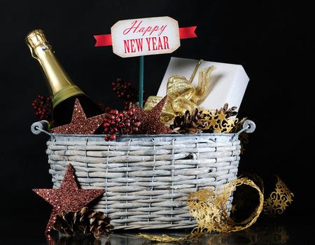 New year gift photo