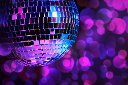 disco parties: Discoteca Foto de archivo