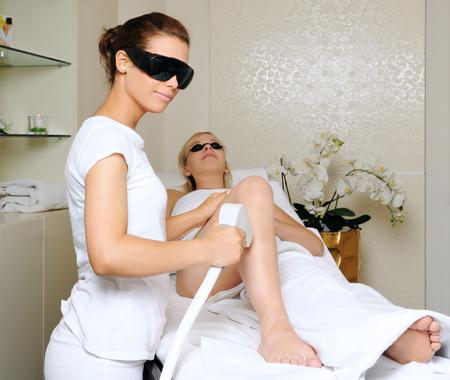 laser treatment: laser treatment