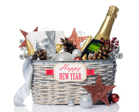 baskets: new year gift