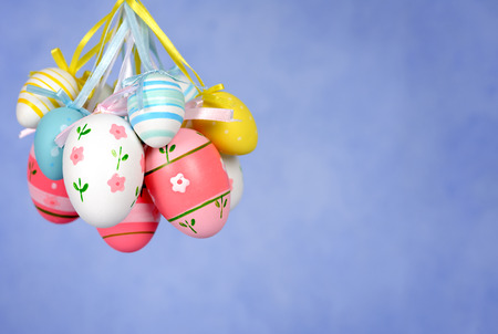 decorated: decorated easter eggs