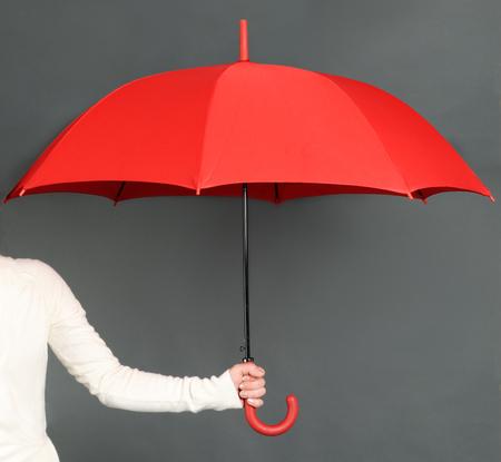 red umbrella: red umbrella