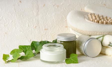 cosmetica met klimop