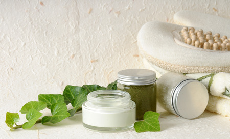 cosmetics with ivy