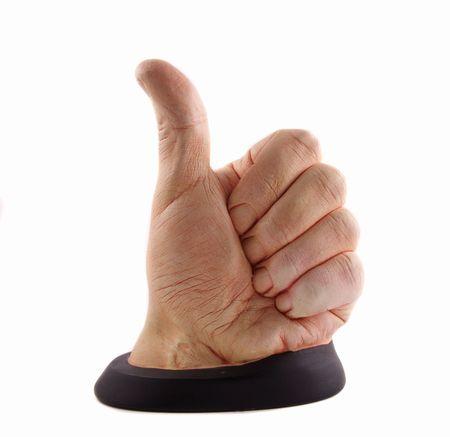 Thumbs up Stock Photo - 6096255