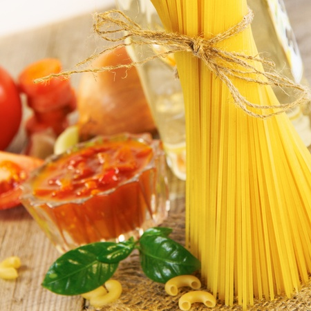 spaghetti still life photo