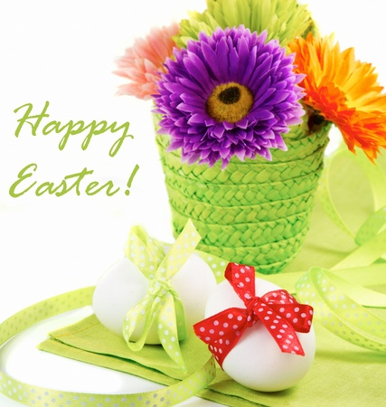 Easter still life  Stock Photo