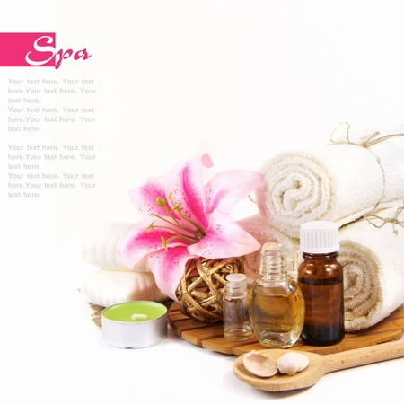 health and beauty: Spa setting