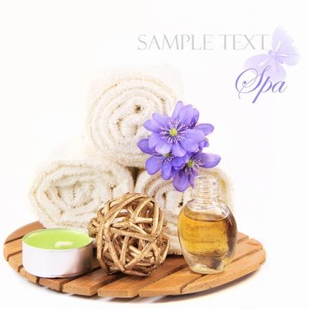 herbal remedy: Spa still life  Stock Photo