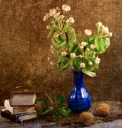 Still life with flowers photo