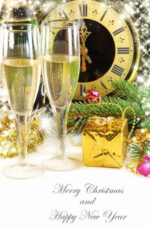 Beautiful Christmas still life Stock Photo