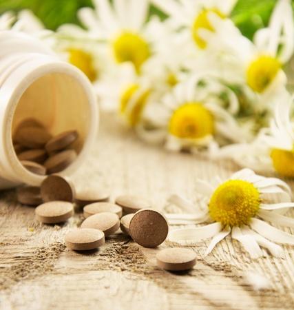 dietary supplements  Stock Photo