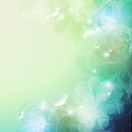 Elegantly floral background, eps10 format  Illustration