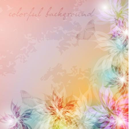 Elegante fondo con colores pastel, eps10 formato