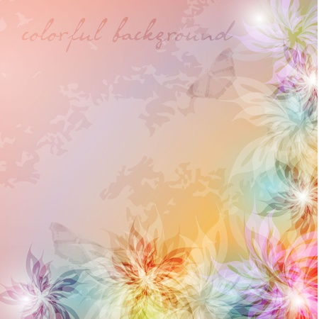Elegantly background with pastel colors, eps10 format  Vector