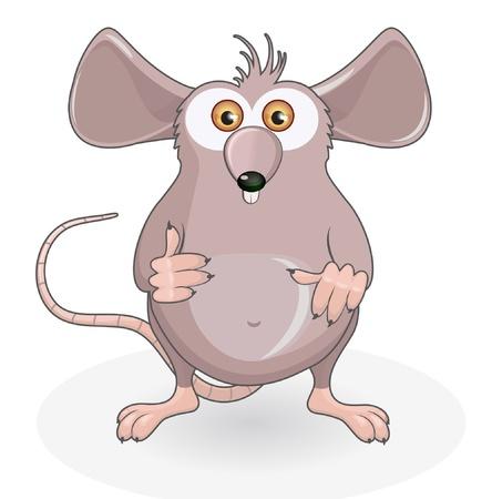Funny rat  일러스트