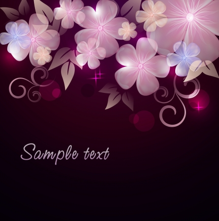 Elegantly floral background Stock Vector - 14180112
