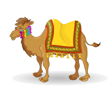 cartoon camel: camel