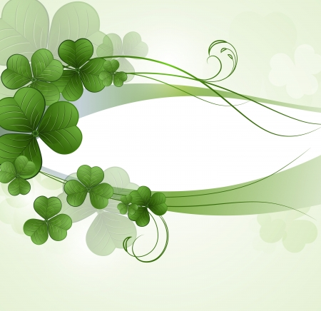 Vector background for St  Patrick s Days  Stock Vector - 17925485