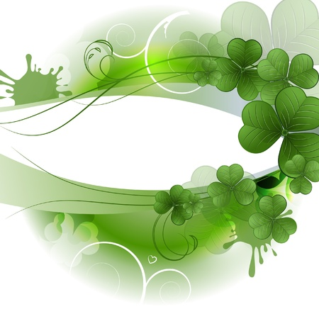 patric background: Vector background for St  Patrick s Days