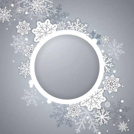place to shine: Elegant Christmas card with place for text