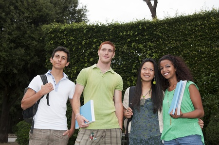 Group of students photo