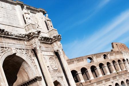 constantino: Arc in Rome , Italy