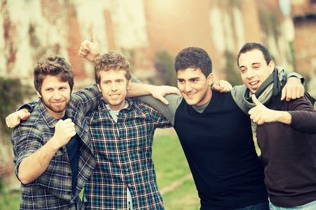 Group of Boys outside photo